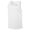 Nike Team Miler Tank II - Men's - White / Black