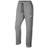 Nike AW77 Open Hem Fleece Pants - Men's - Grey / Grey