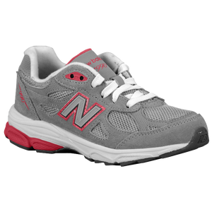 New Balance 990 - Girls' Grade School - Grey/Pink