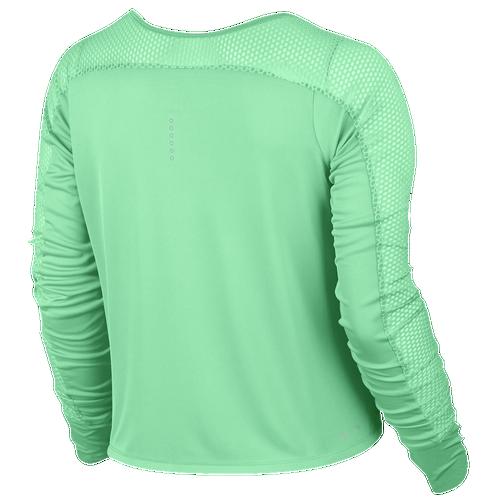 Nike dri fit run fast long sleeve t shirt women 39 s for Long sleeve running shirt womens