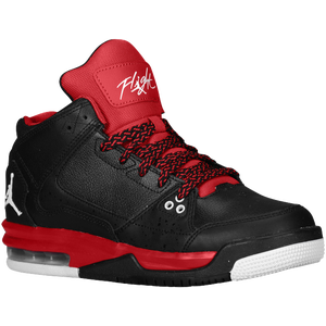 Jordan Flight Origin - Boys' Grade School - Black/White/Gym Red