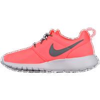 Nike Roshe One - Girls' Grade School - Orange / Grey