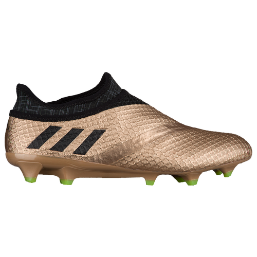 adidas Messi 16+ PureAgility FG Mens Soccer Shoes Copper Metallic/Core  Black/Solar