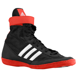 adidas Combat Speed 4 - Men's - Black/Collegiate Red/White