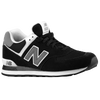 New Balance 574 - Men's - Black / Grey