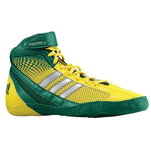 adidas Response 3.1 - Men's - Forest/Vivid Yellow/Metallic Silver