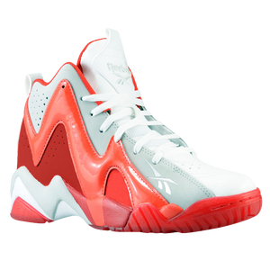 Reebok Kamikaze II Mid - Boys' Grade School - Bright Cadmium/Excellent Red/White/Steel
