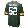 Nike NFL Team Color Game Day Jersey - Boys' Grade School -  Clay Matthews - Green Bay Packers - Green / Gold