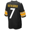 Nike NFL Team Color Game Day Jersey - Boys' Grade School -  Ben Roethlisberger - Pittsburgh Steelers - Black / White