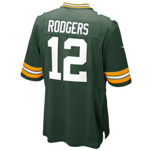 Nike NFL Team Color Game Day Jersey - Boys' Grade School - Rodgers, Aaron - Green Bay Packers - Green