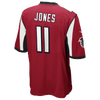 Nike NFL Team Color Game Day Jersey - Boys' Grade School -  Julius Jones - New Orleans Saints - Red / White