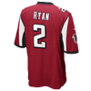 Nike NFL Team Color Game Day Jersey - Boys' Grade School -  Matt Ryan - Atlanta Falcons - Red / Black