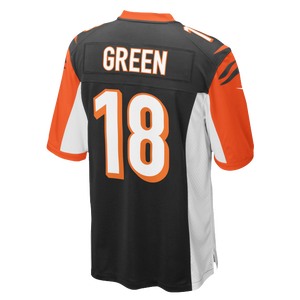 Nike NFL Team Color Game Day Jersey - Boys' Grade School - Green, AJ - Cincinnati Bengals - Orange