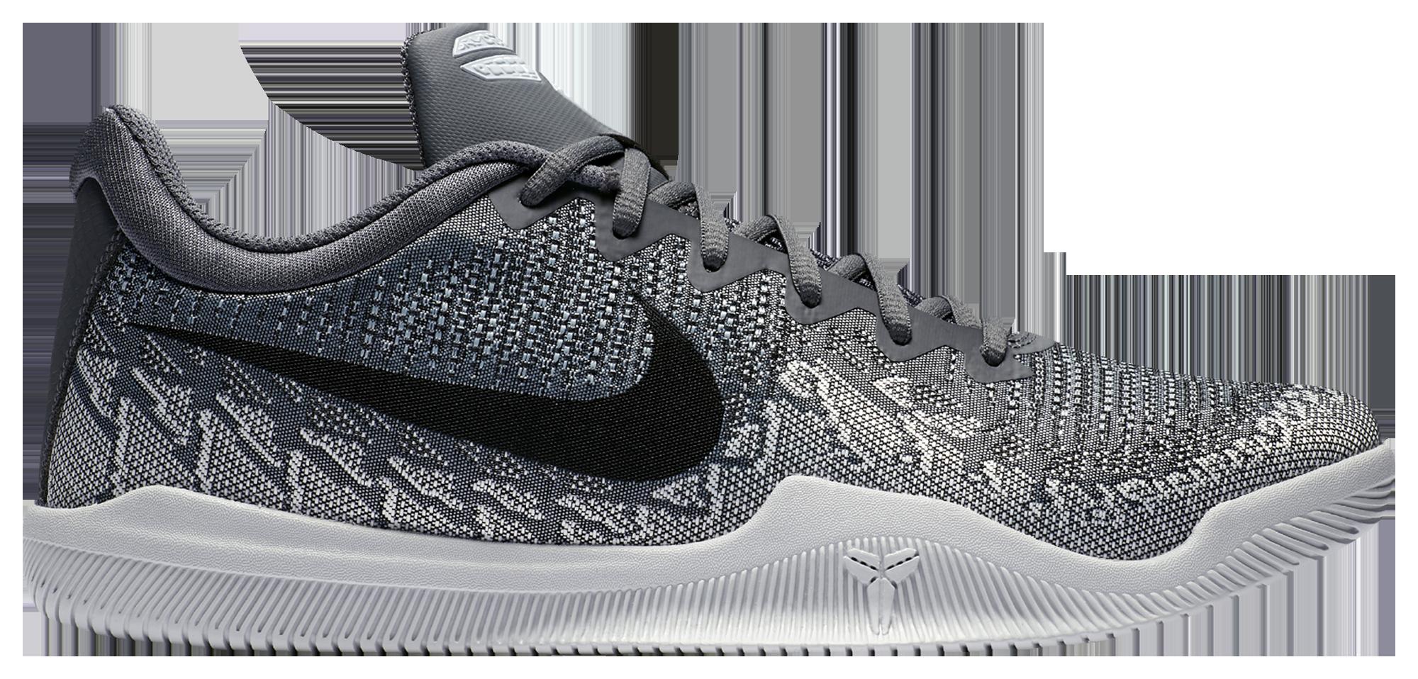 Nike Performance MAMBA RAGE - Basketball shoes - dark grey/black/pure platinum