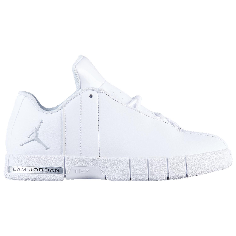 5a56afdf3e218f ... Shoes - WhiteMetallic SilverPure Platinum  Jordan Team Elite 2 - Boys  Preschool ...