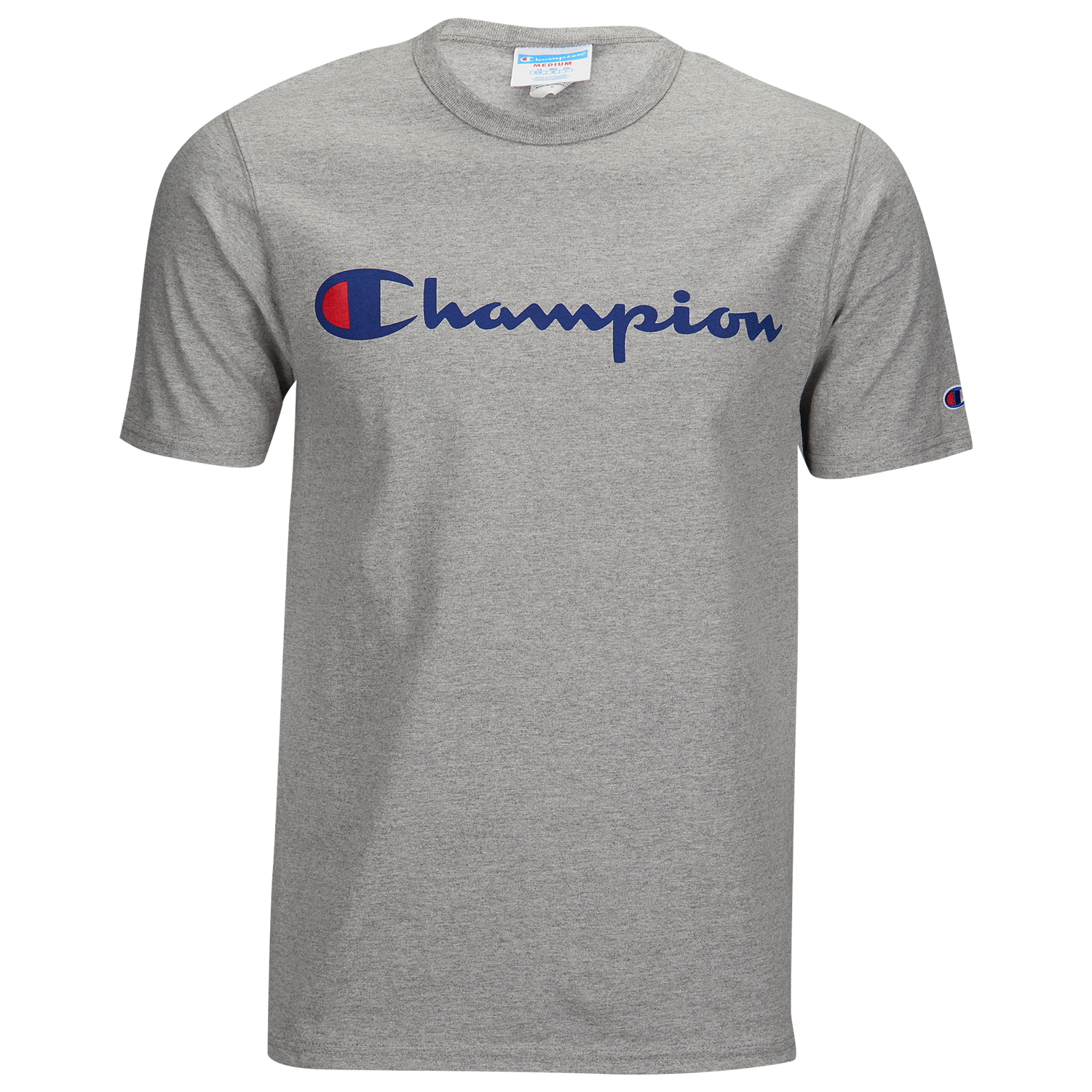 Champion Heritage Graphic Short Sleeve T-Shirt - Men's Casual - Oxford Grey C1800604