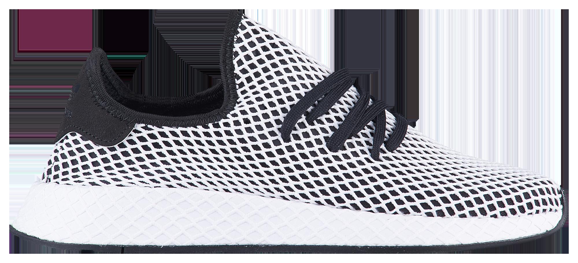 i prezzi online in bianco e nero corridore deerupt scarpe adidas