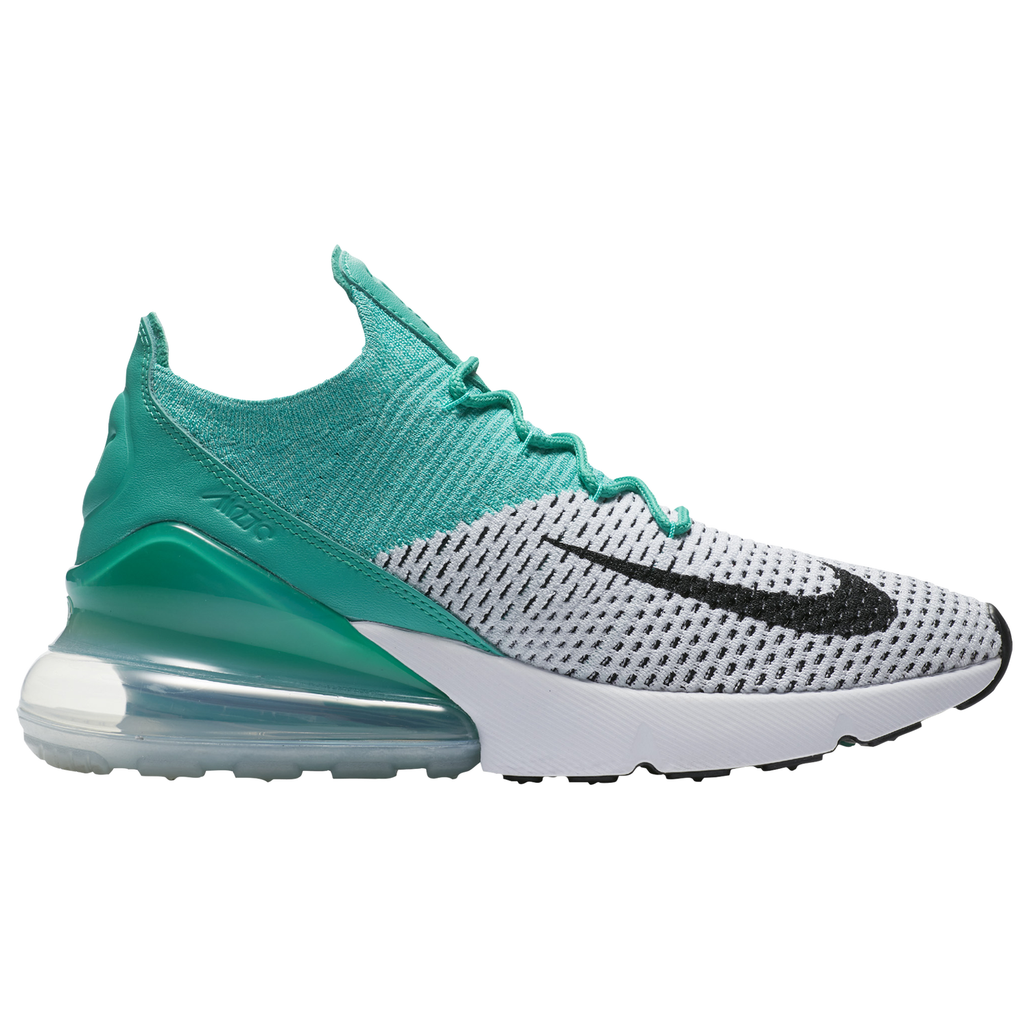 Nike Air Max 270 Flyknit Women's Emerald/White H6803300