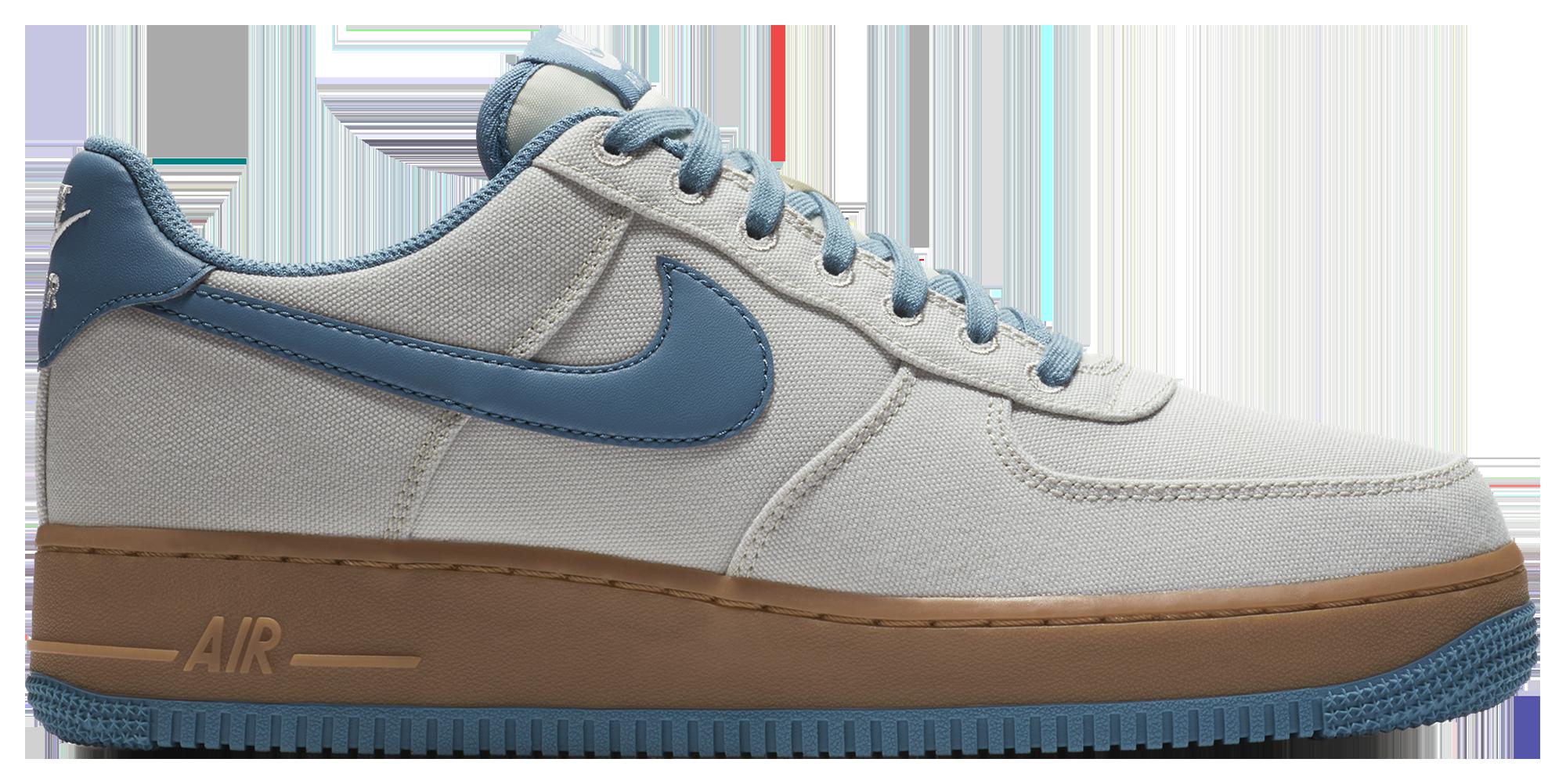 Nike Air Force 1 Low Men's Casual Shoes Bone/Blue