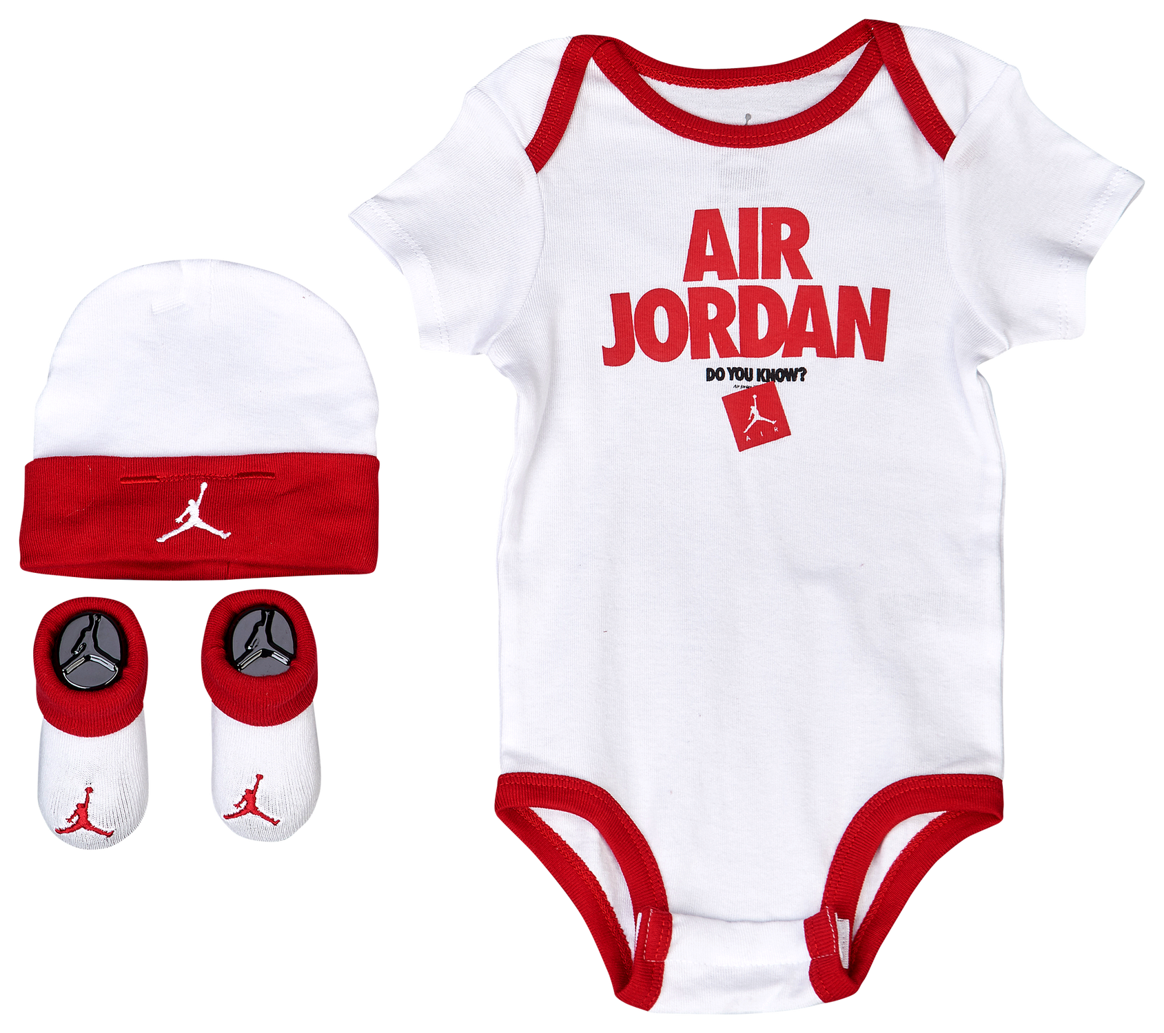 Jordan Retro 3 Tab 3 Piece Creeper Set Boys Infant Basketball