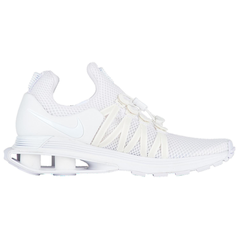 Nike Shox Gravity - Women's Casual - White/White/White Q8554100