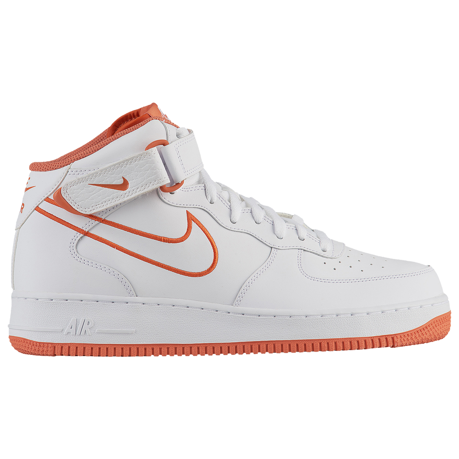 Nike Air Force 1 Mid Hombres  Casual Zapatos Blanco  Hombres Terra Naranja 2f691f