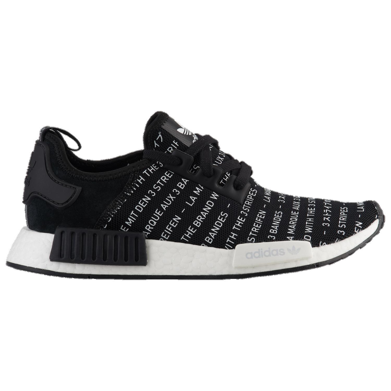 58f0a70e2 where to buy adidas originals nmd r1 mens running shoes black black ...