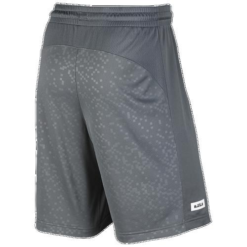 a44a33ae49a8fe lovely Nike LeBron Elite Shorts Mens Basketball Clothing James LeBron Cool  Grey White