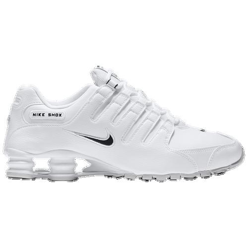 lovely Nike Shox NZ Mens Running Shoes White Black White ... 80d401d6f