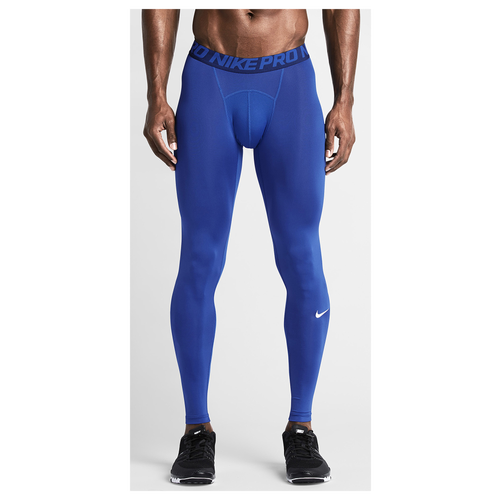 1c05c7fb5cf42b Nike Pro Cool Compression Tights Mens Training Clothing Game Royal White  outlet