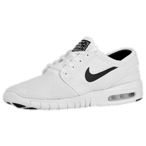 new concept c63c0 b58e8 Nike SB Stefan Janoski Max Mens Casual Shoes WhiteBlack 60%OFF