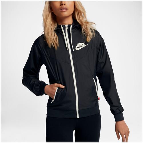 Nike Windrunner OG - Women's - Casual - Clothing - Black/Sail