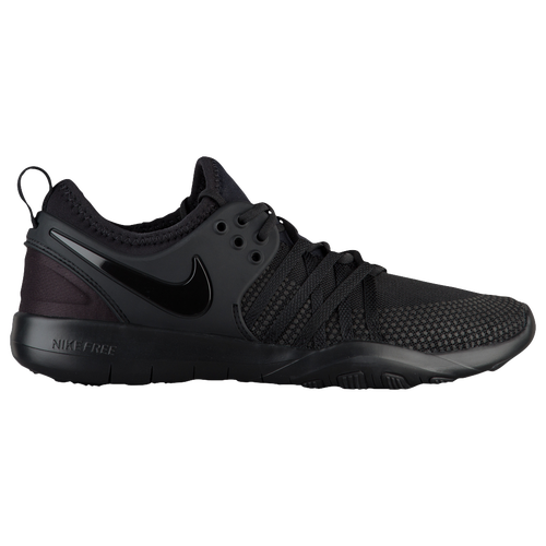 black nike frees womens black