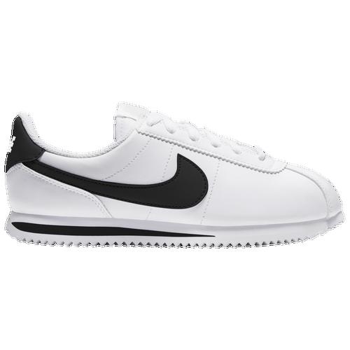competitive price d78b3 8b2e5 ... hot nike cortez boys grade school casual shoes white black 0cc47 a05b3