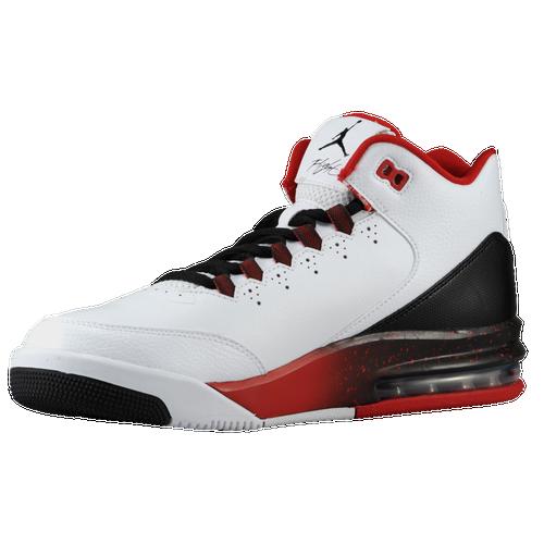 Jordan Flight Origin 2 - Men\u0026#39;s - Basketball - Shoes - White/White/Black/Gym Red