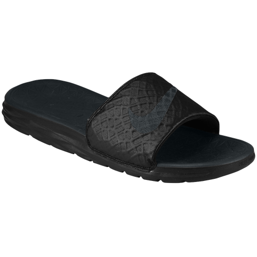 3dbec52c3090 50%OFF Nike Benassi Solarsoft Slide 2 Mens Casual Shoes Black Anthracite