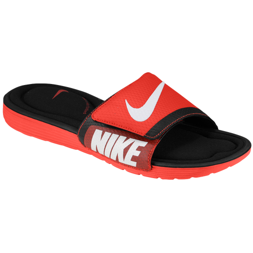 26fb141ed9 30%OFF Nike Solarsoft Comfort Slide Mens Casual Shoes Challenge  Red/Black/White