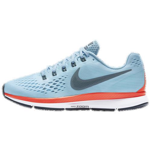 5eb6714b148 Nike Air Zoom Pegasus 34 Womens Running Shoes Ice Blue Blue Fox Bright  Crimson