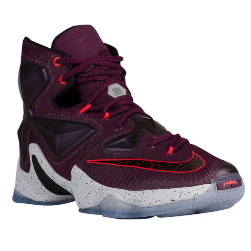 timeless design ca70c 315db Nike LeBron XIII Mens Basketball Shoes James LeBron Mulberry Black Pure  Platinum Vivid