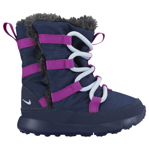 3151e308a0cf Nike Roshe One Hi Sneakerboots Girls Toddler Casual Shoes Midnight  Navy Blue Tint Hyper Violet on sale