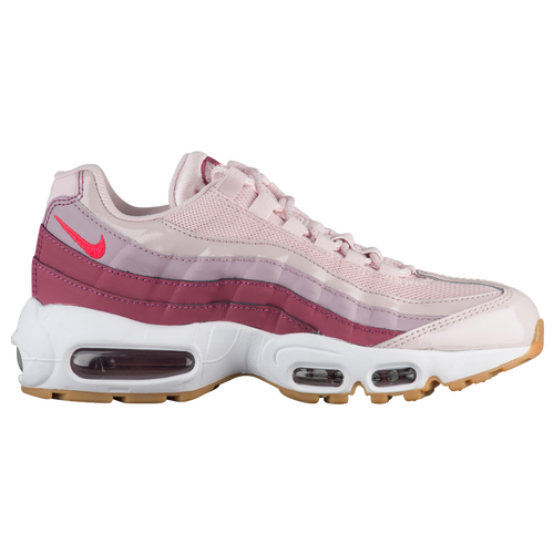 Nike Air Max 95 - Women's - Casual - Shoes - Barely Rose/Hot Punch/Vintage Wine/White/Rose