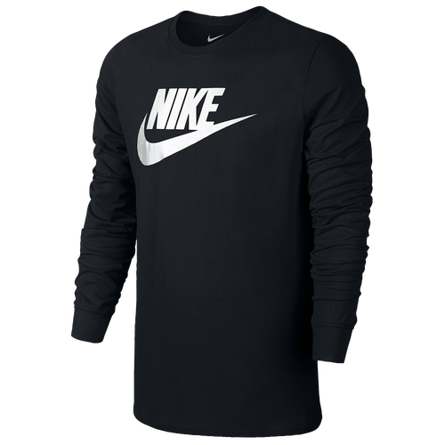 Nike Futura Icon Long Sleeve T-Shirt - Men's - Casual - Clothing ...
