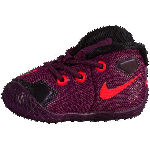 half off db826 ddd38 Nike LeBron XIII Boys Infant Basketball Shoes James LeBron Mulberry Black  Pure Platinum Vivid Purple free
