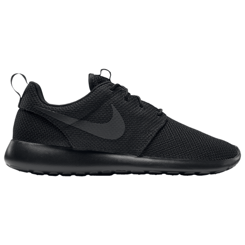 nike roshe one men 39 s casual shoes black black. Black Bedroom Furniture Sets. Home Design Ideas