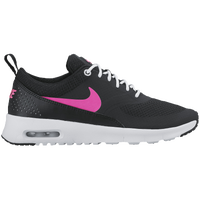 nike shoes for girls black. nike air max thea - girls\u0027 grade school black / pink shoes for girls