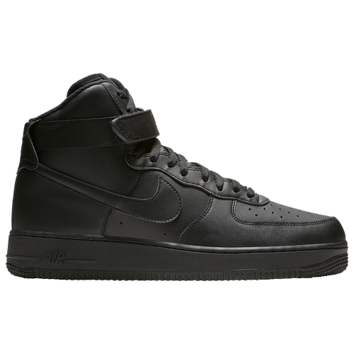 nike air force 1 high men 39 s casual shoes black. Black Bedroom Furniture Sets. Home Design Ideas