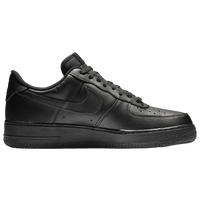 Noir Nike Air Force One Bas