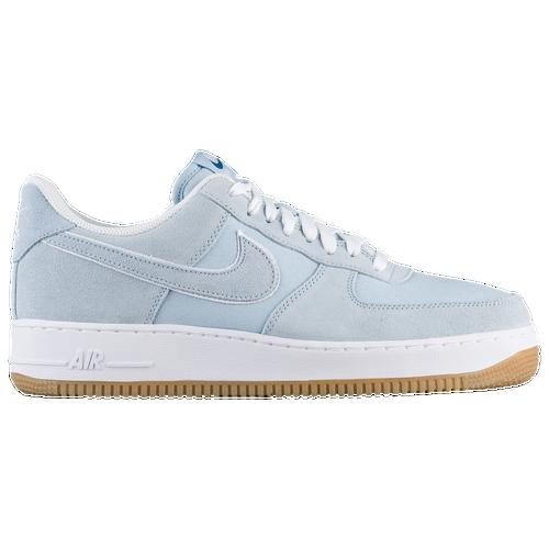 Nike Air Force 1 Low - Men\u0027s - Light Blue / White