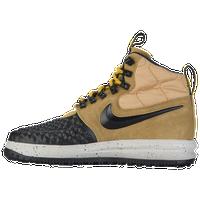 Nike Lunar Force 1 Duckboot - Men's - Gold / Black