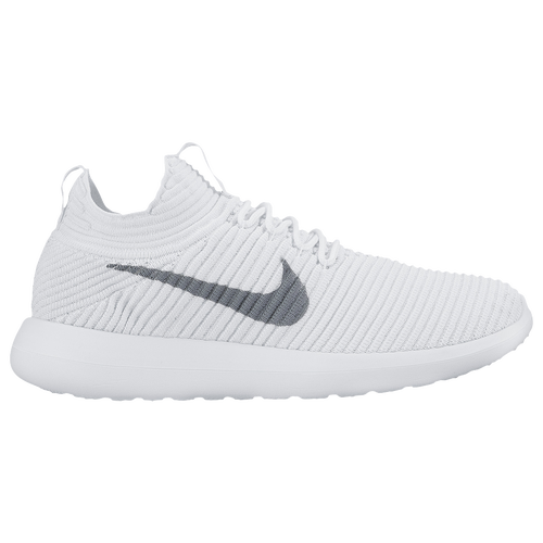 Nike Roshe Two Flyknit 2 - Women's - Casual - Shoes - White/Wolf  Grey/White/White